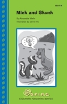 Wink the mink and Rob the skunk decide to go swimming on a hot day, but Rob is afraid of the water. Can Wink help him overcome his fear? This S.P.I.R.E.® Level 1 (spire) decodable reader is perfect for early readers and those who need practice reading simple books with basic phonics concepts. This book includes phonics concept nk (bank, wink, honk, trunk)